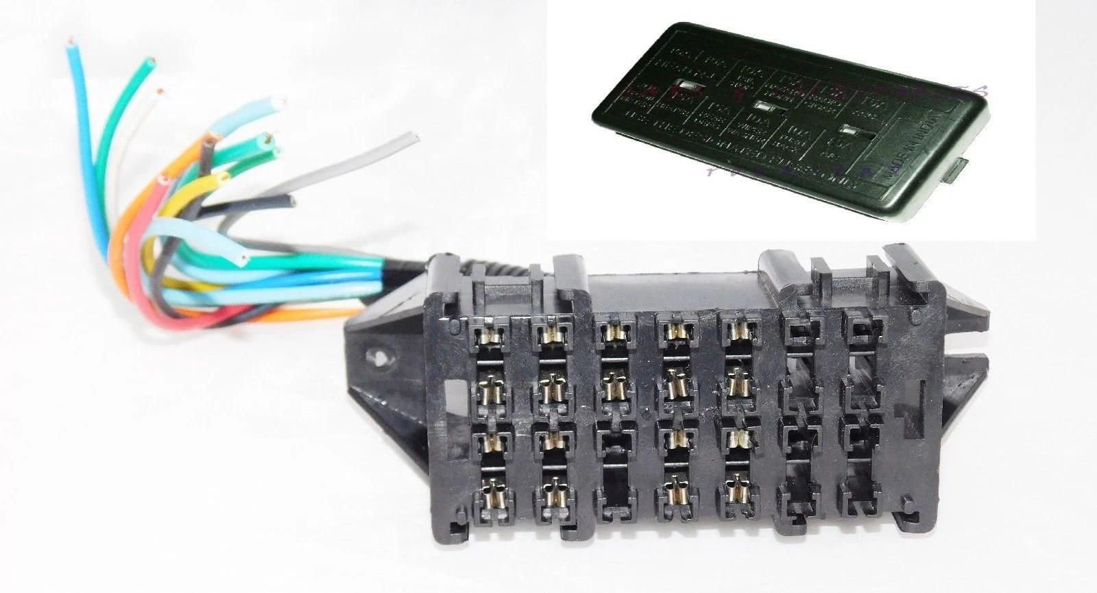 Suzuki Sierra Fuse Box Index listing of wiring diagrams