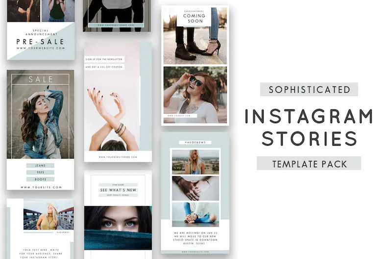 Instagram Stories Templates for Photographers Instagram Etsy