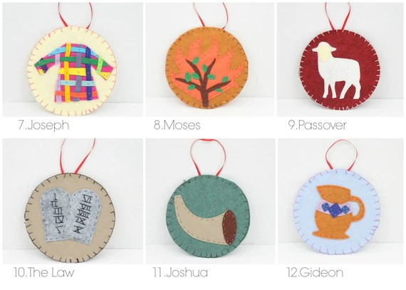 31 Jesse Tree Ornament Patterns   Templates for Jesse Tree Etsy