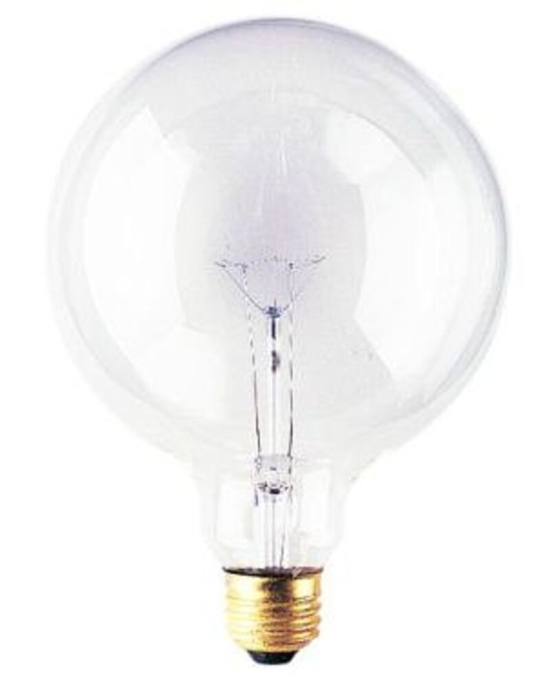 60w Light Bulb 60 Watt Round Clear Bulbs For Industrial Lighting 60 Watt Bulbs 1bulb