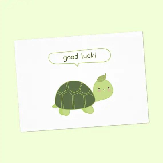 Good Luck cards printable good luck card good luck card with - good luck cards to print