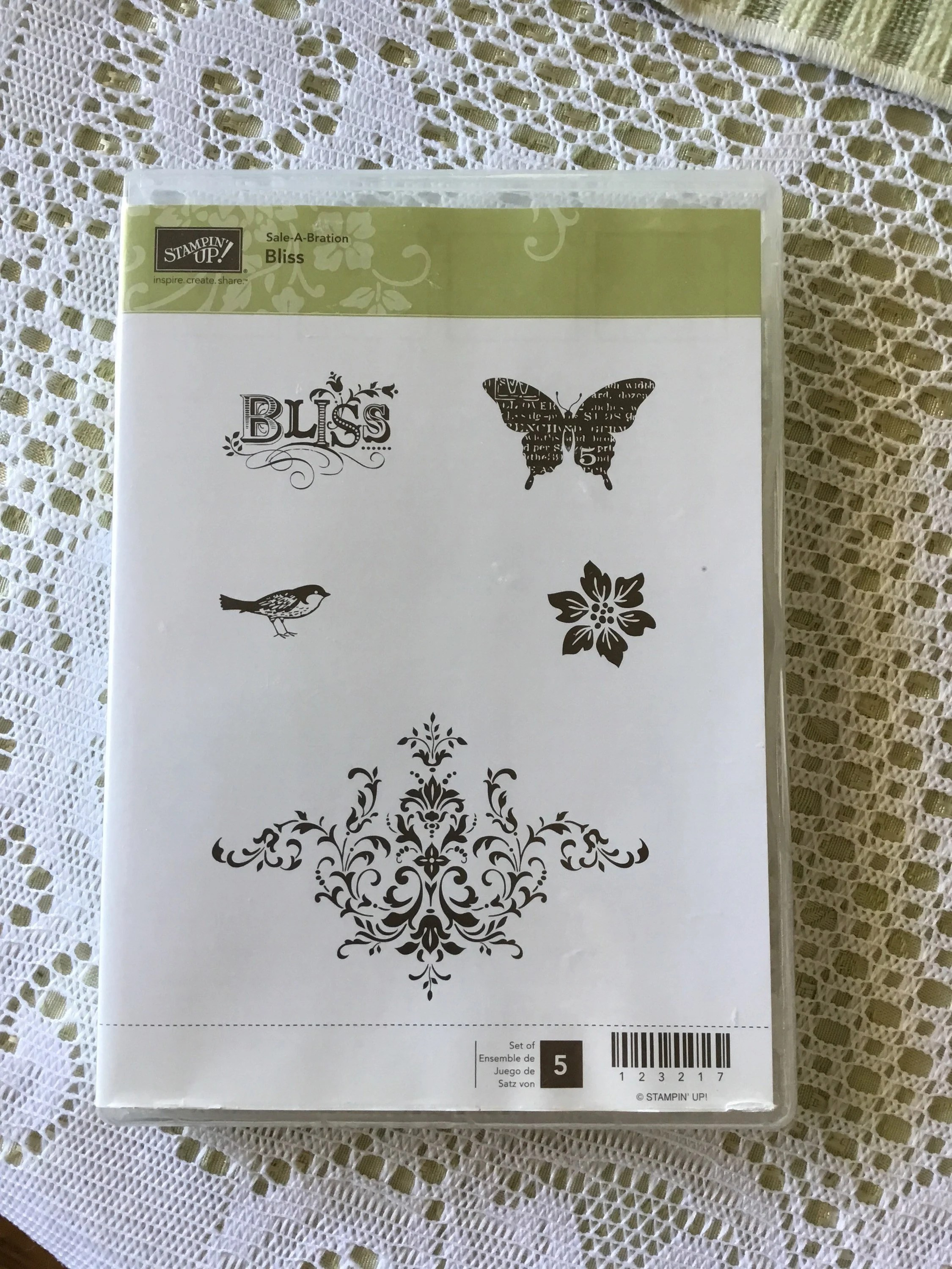 Stampin Up Karten Verkaufen Stampin Up Rubber Stamp Set For Clear Mounts Bliss Used Card Making Scrapbooking Parisian Vintage Bird Butterfly Flower Filigree
