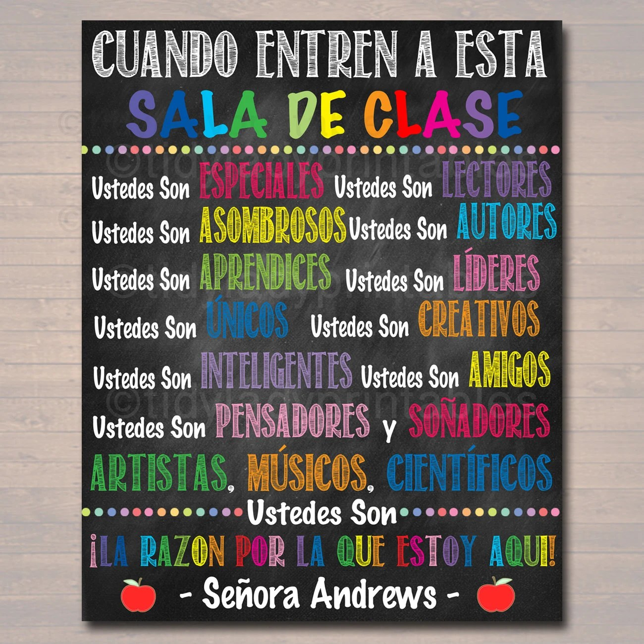Poster In Spanish Custom Spanish Classroom Rules Poster Spanish Class Decor Clase De Espanol In This Classroom Spanish Teacher Spanish Classroom Posters
