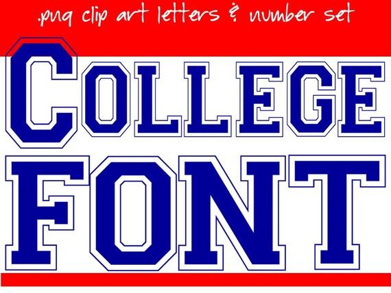collegiate lettering font - Artij-plus