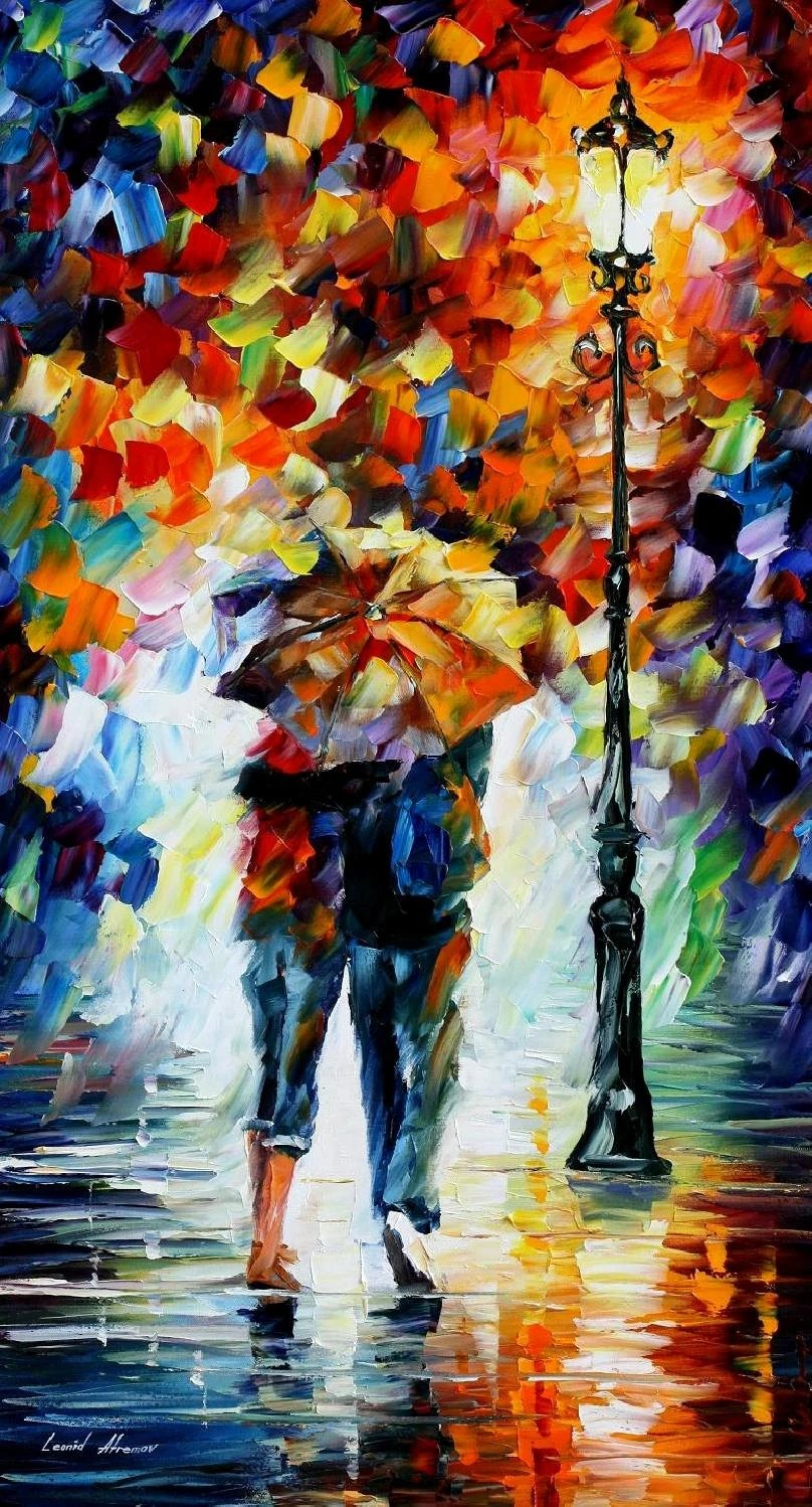 Wall Paintings For Sale Wall Paintings For Sale Best Wall Art On Canvas By Leonid Afremov Bonded By The Rain Size 24