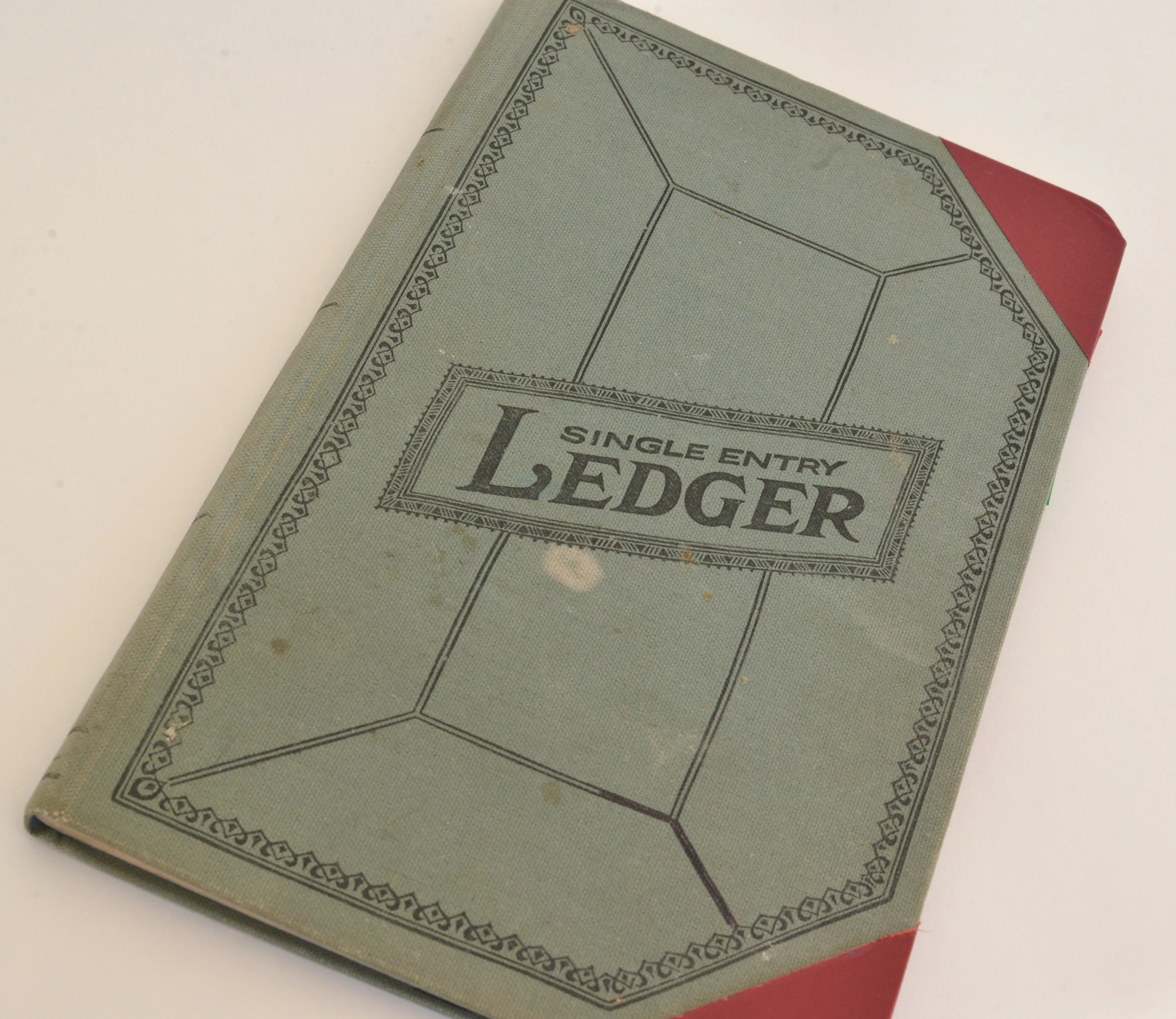 Old Ledger Vintage Used Ledger Blank Ledger Pages Etsy
