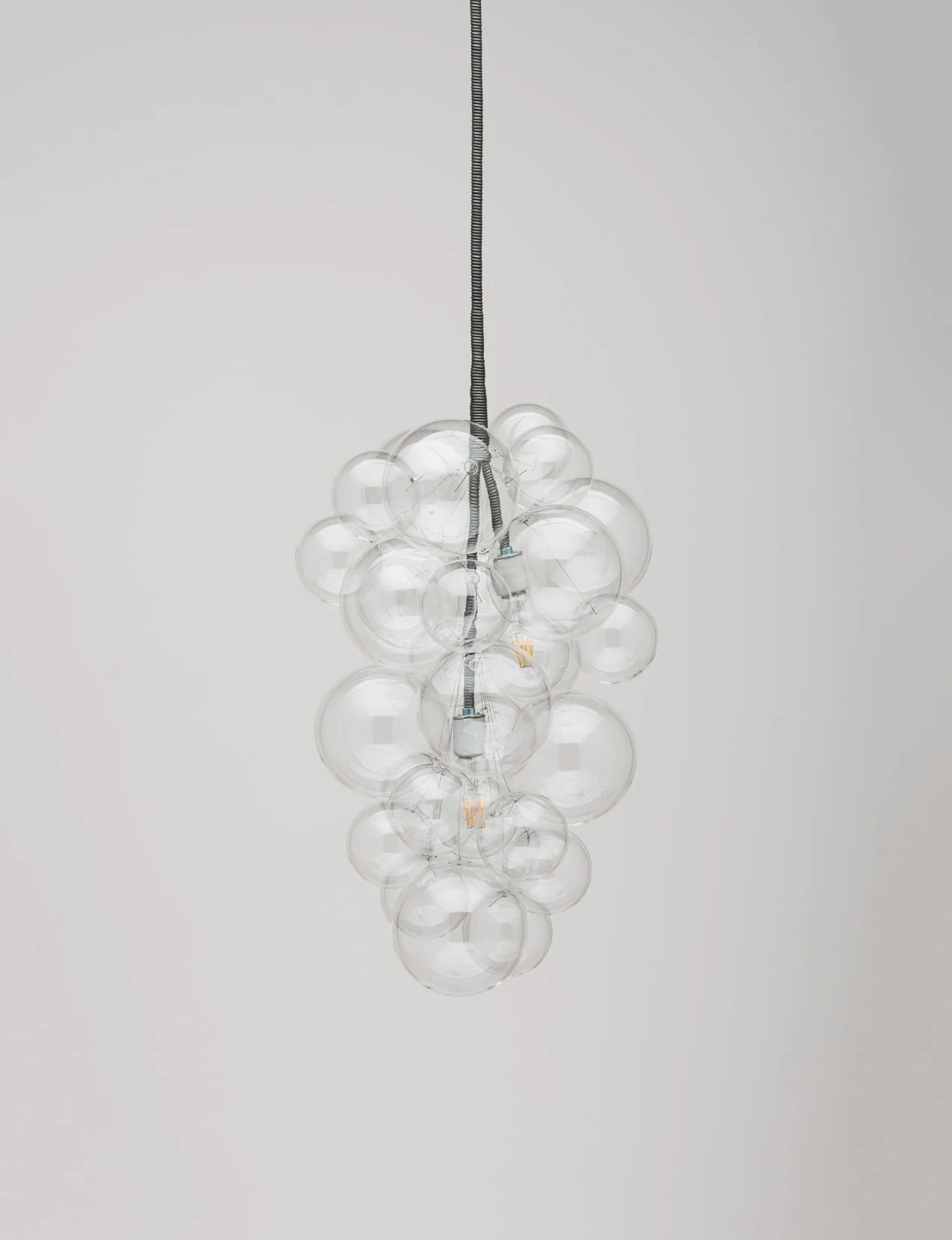 Led Chandelier The Cascade Bubble Chandelier 26