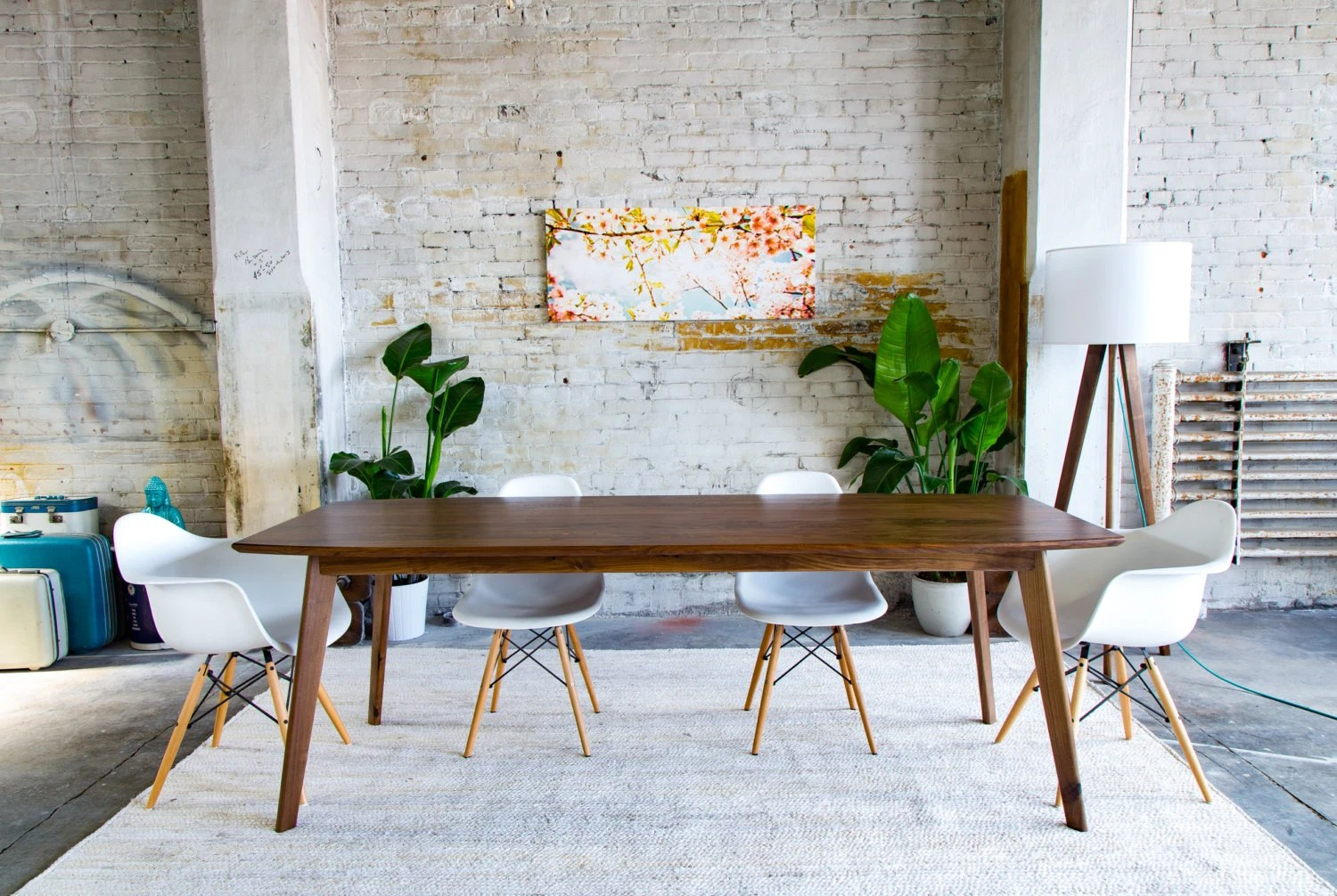 Small Dining Table Mid Century Modern Dining Table Walnut Dining Table Mid Century Dining Table Small Dining Table