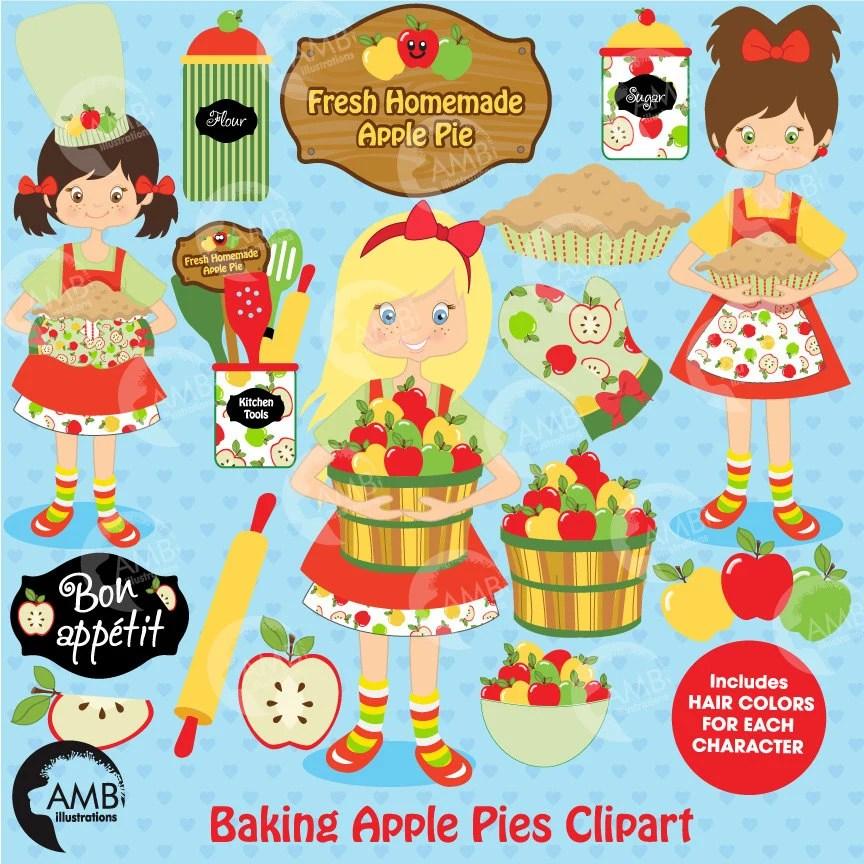 Baking clipart, Apple picking clipart, Apple clipart, Bake Sale