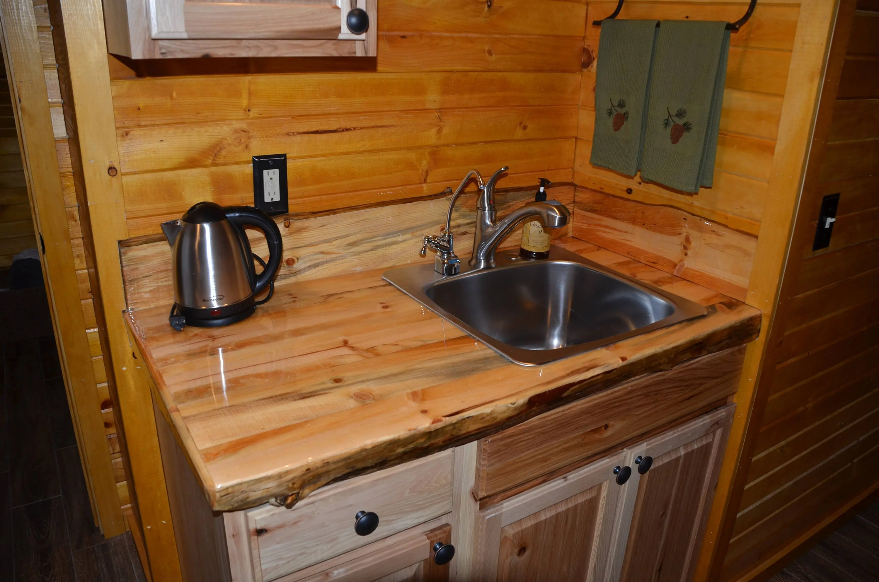 Countertops For Bars Kitchen Bathroom Rustic Wood Countertops Great For Bars And Islands Too Custom Handmade By The Foot