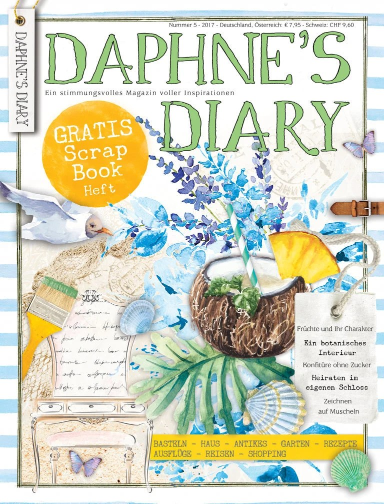 Shabby Deutsch Daphnes Diary 5 2017 Magazine Living Magazine Shabby Nostalgia And Much More Deutsch