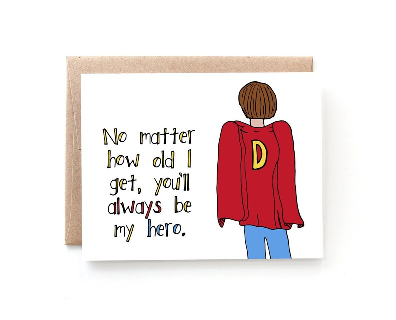 Fathers Day Card From Daughter Fathers Day Card from Son Etsy