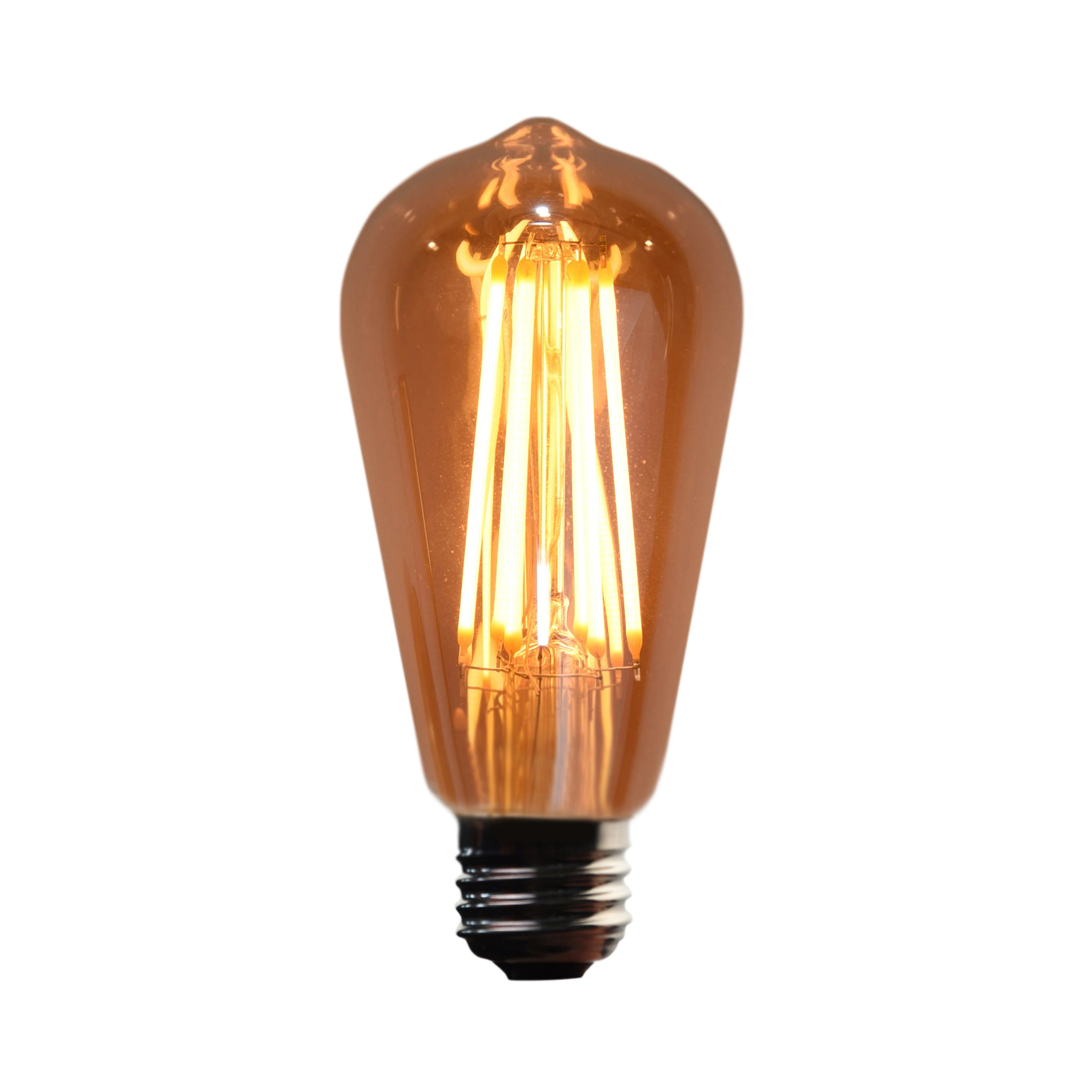 40 Watt In Lumen 4 5w Led Edison Bulb 400 Lumens 40 Watt Equivalent Fully Dimmable