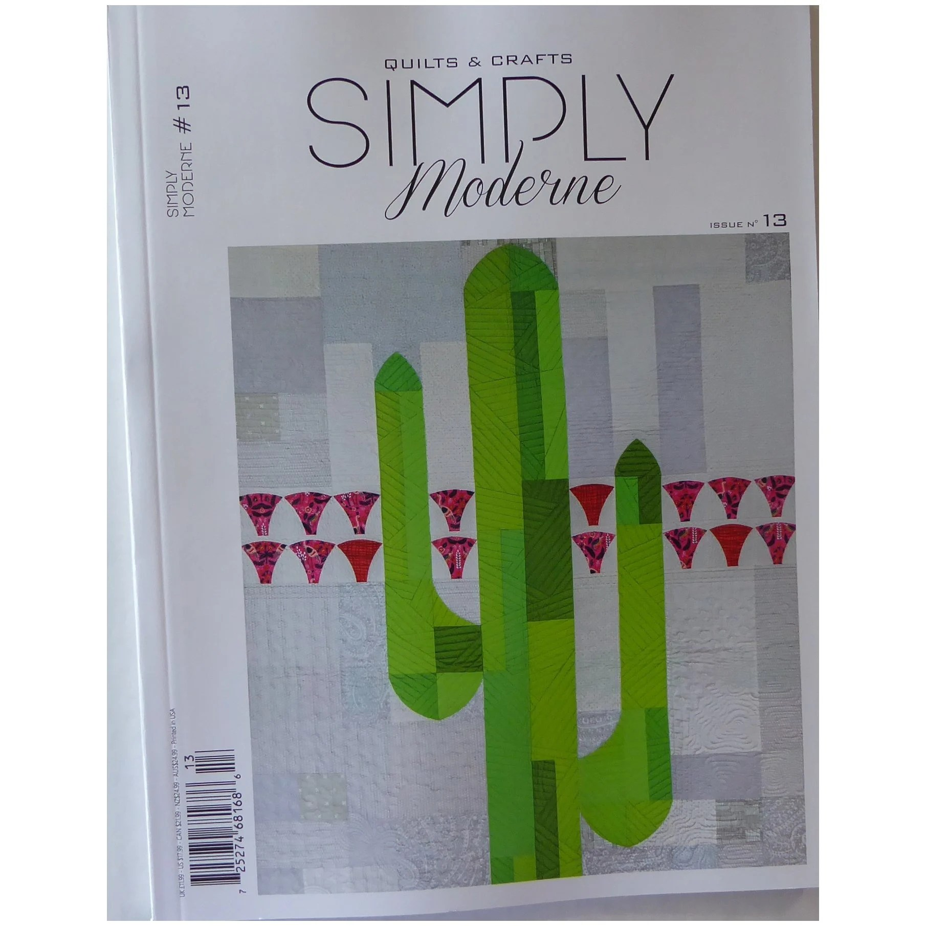 Moderne Quilts Simply Moderne Quilts And Crafts Issue 13