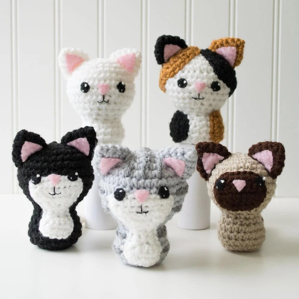 Amigurumi Pattern Crochet Cat Amigurumi Cat Doll Etsy