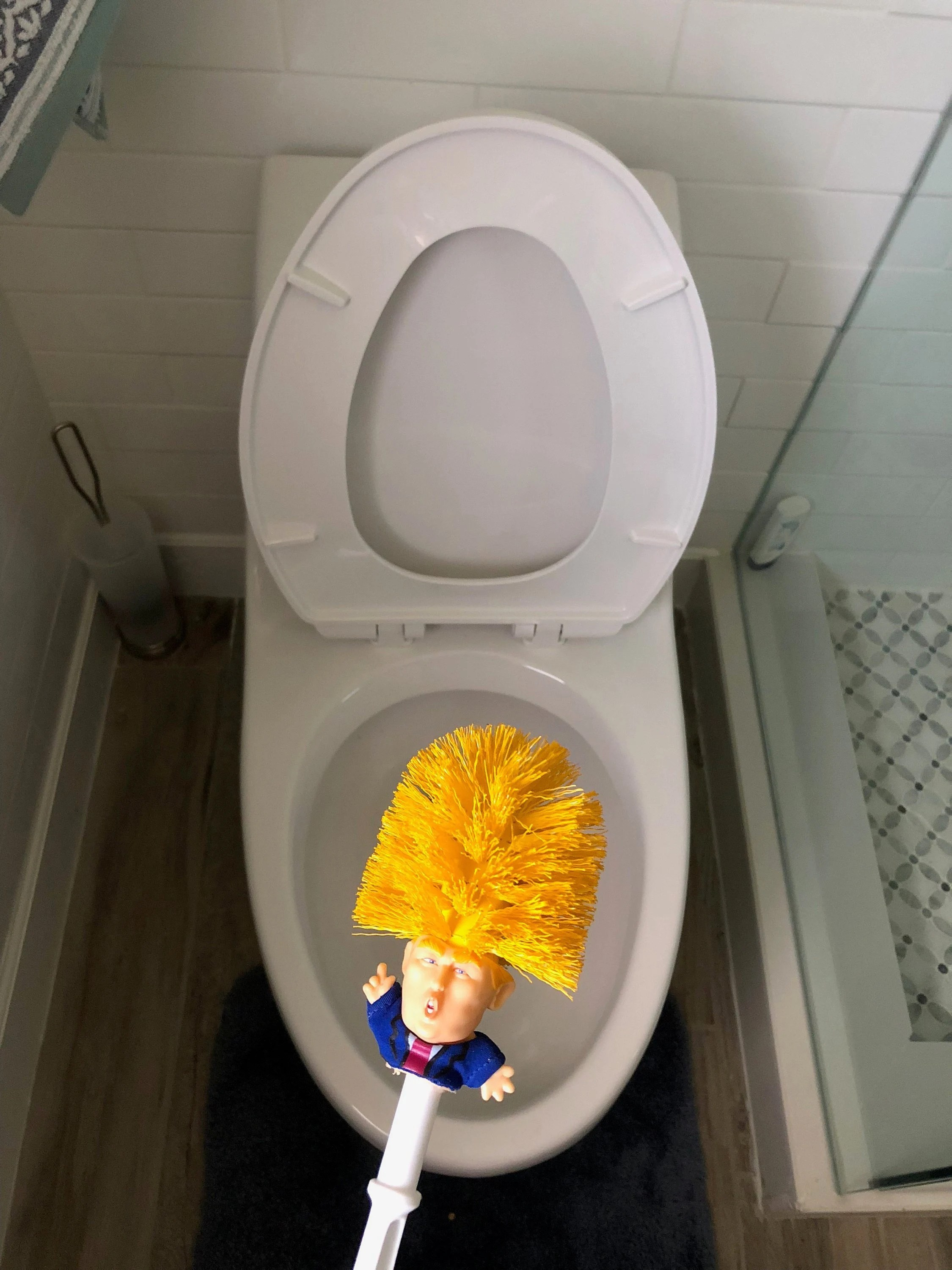 Balai De Toilette Original Commander In Mist Klobürste Donald Trump Klobürste Machen Ihre Toilet Great Again Commander In Crap