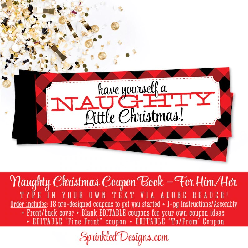 Christmas Coupon Ideas
