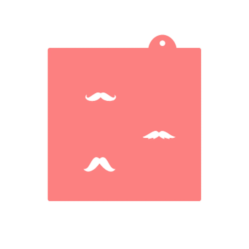 Mustache Stencil Mustache Oreo Cookies Mustache Macarons Etsy