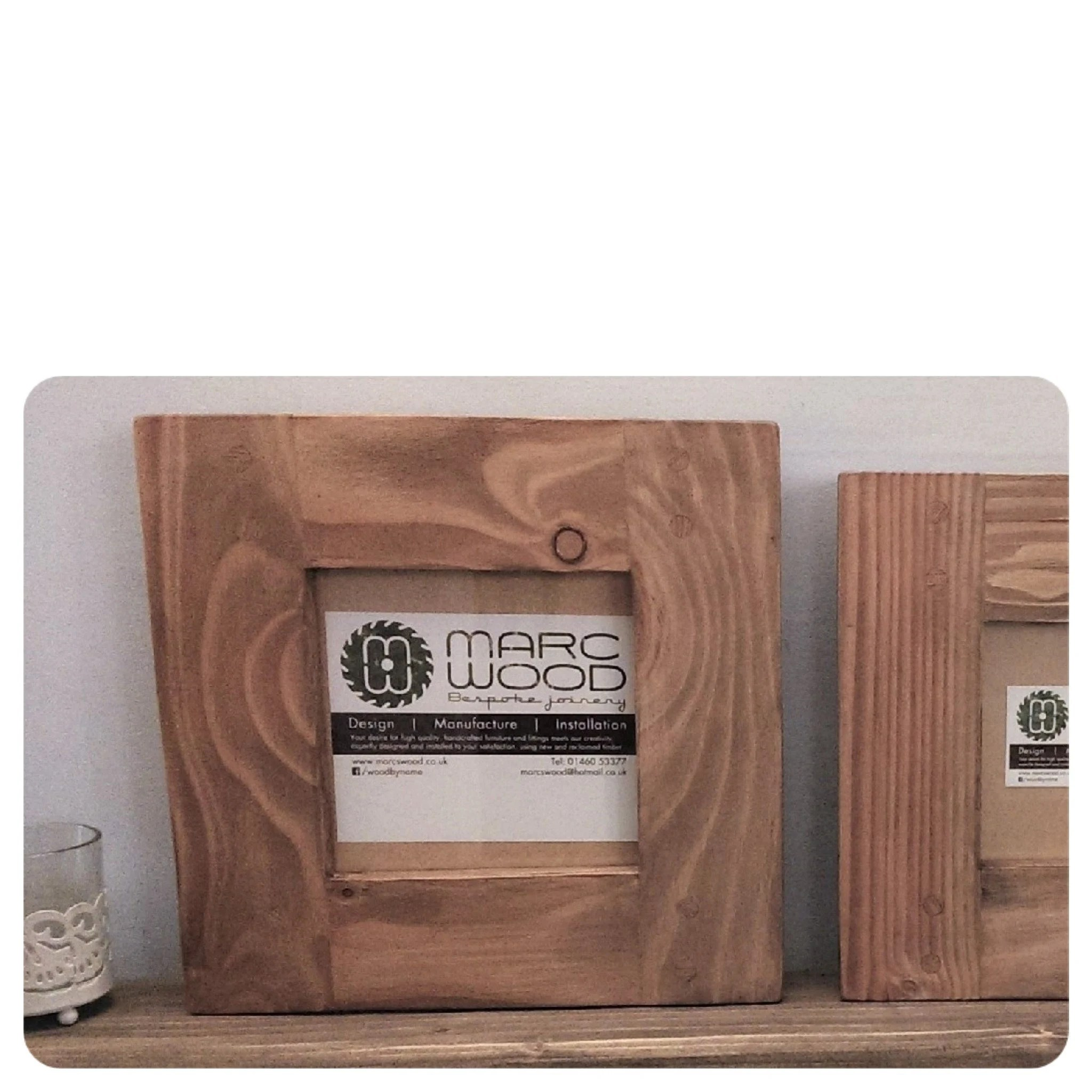 Couchtisch Colombo Small Wood Picture And Photo Frame Square 6 X 6 Inch Thick Light Wood Frame Eco Wood Handmade Modern Rustic Frames From Somerset Uk