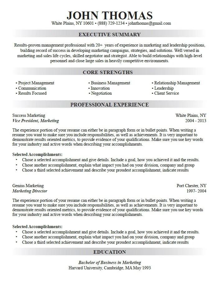 Professional Career Resume Custom Resume Writing Resume Etsy