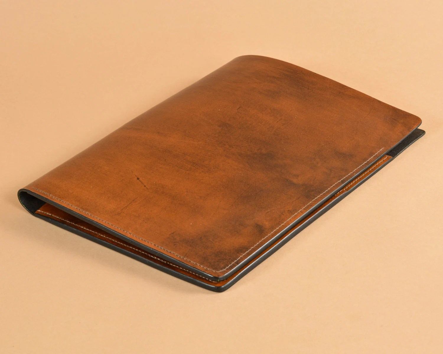 Leather Folder Presentation Folder Resume Folder Etsy