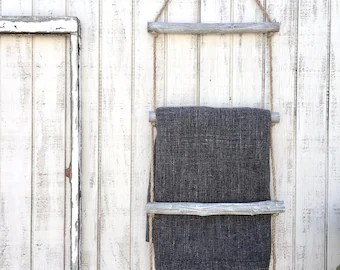 Blanket Ladder 5 Ft Blanket Ladder Rustic Decorative Blanket