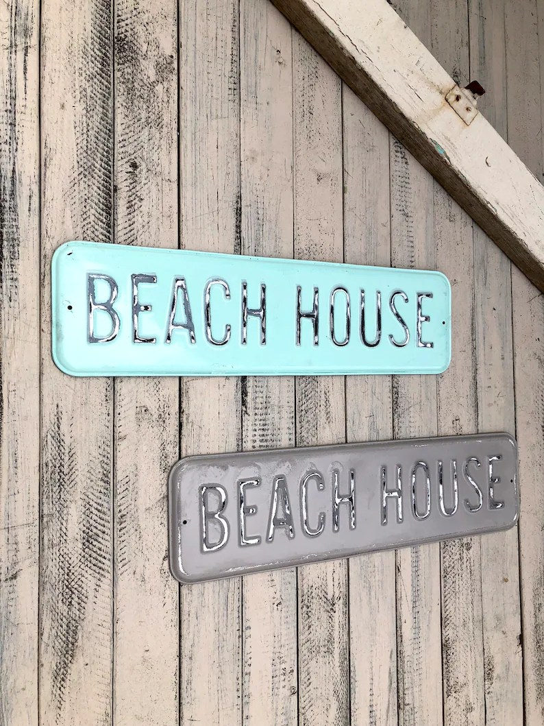 Nautical House Decor Beach House Nautical Beach Decor Beach Signs Beach Art Beach House Decor Beach House Sign Beach Home Decor Wall Art Beach Home Sign