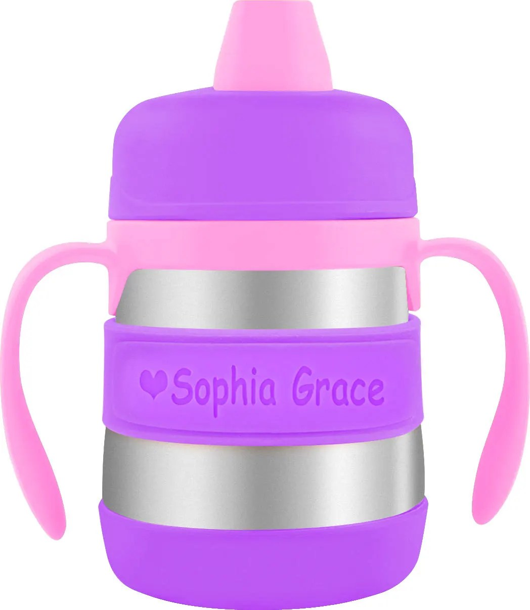 Personalized Baby Bottle Labels  Sippy Cup Labels (2 PACK)