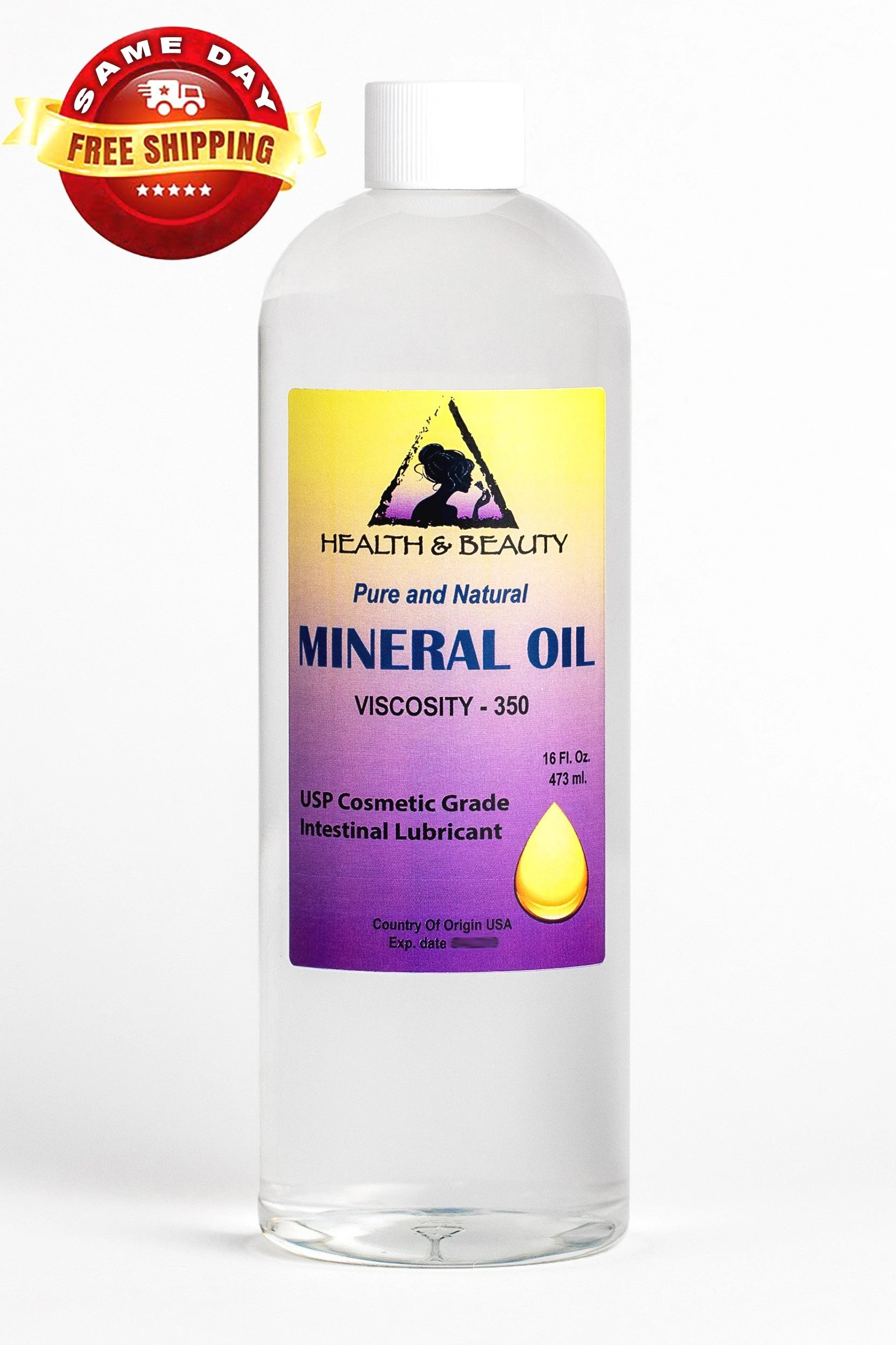 Mineral Oil 32 Oz Mineral Oil 350 Viscosity Nf Usp Grade Intestinal Lubricant 100 Pure