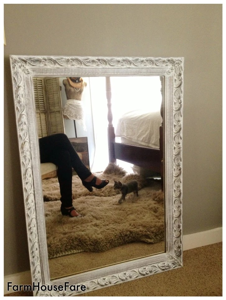 Large Wall Mirrors Large Wall Mirror Shabby Chic White Chalk Paint Ornate Bathroom Mirror Living Room Wall Hanging Leaning Mantel Mirror White Mirror