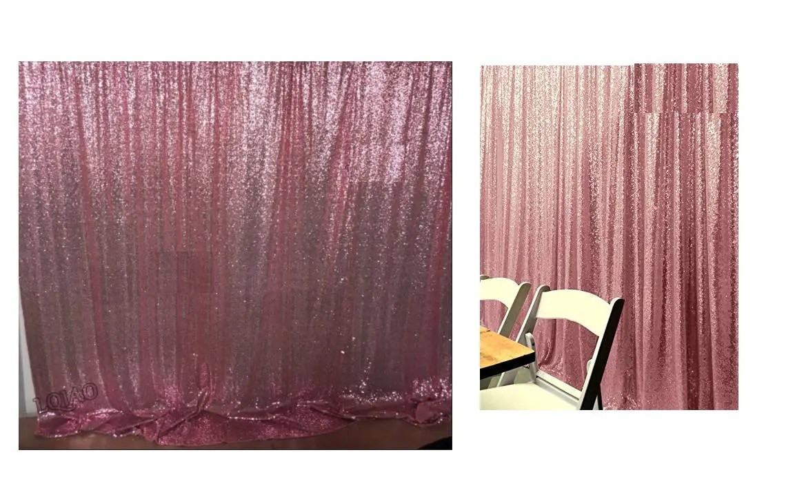 Pink Sequin Curtains Craft Own Fuchsia Pink Sequin Wedding Curtain 3 Ft By 7 Ft Backdrop Sequin Add Elegant Shiny Sequins For Special Events Party Weddings