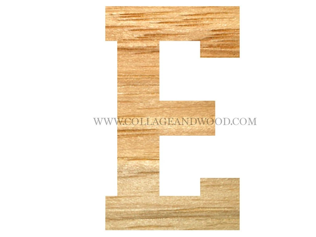 Large Wooden Letter E Unfinished Wooden Letters Giant Wooden Etsy