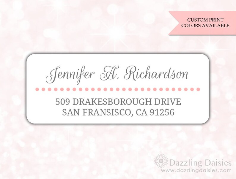 Return address labels 30 Return address sticker Adress Etsy