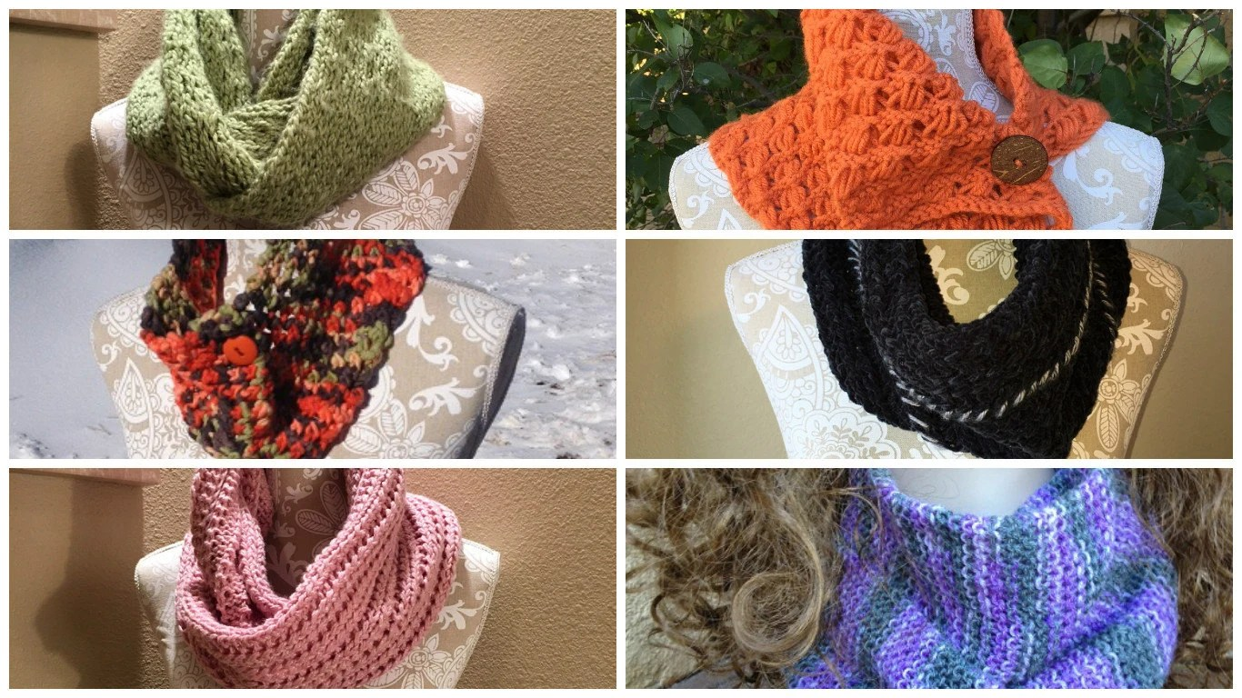 Cowls And Infinity Scarves Ebook 6 Unique Loom Knit