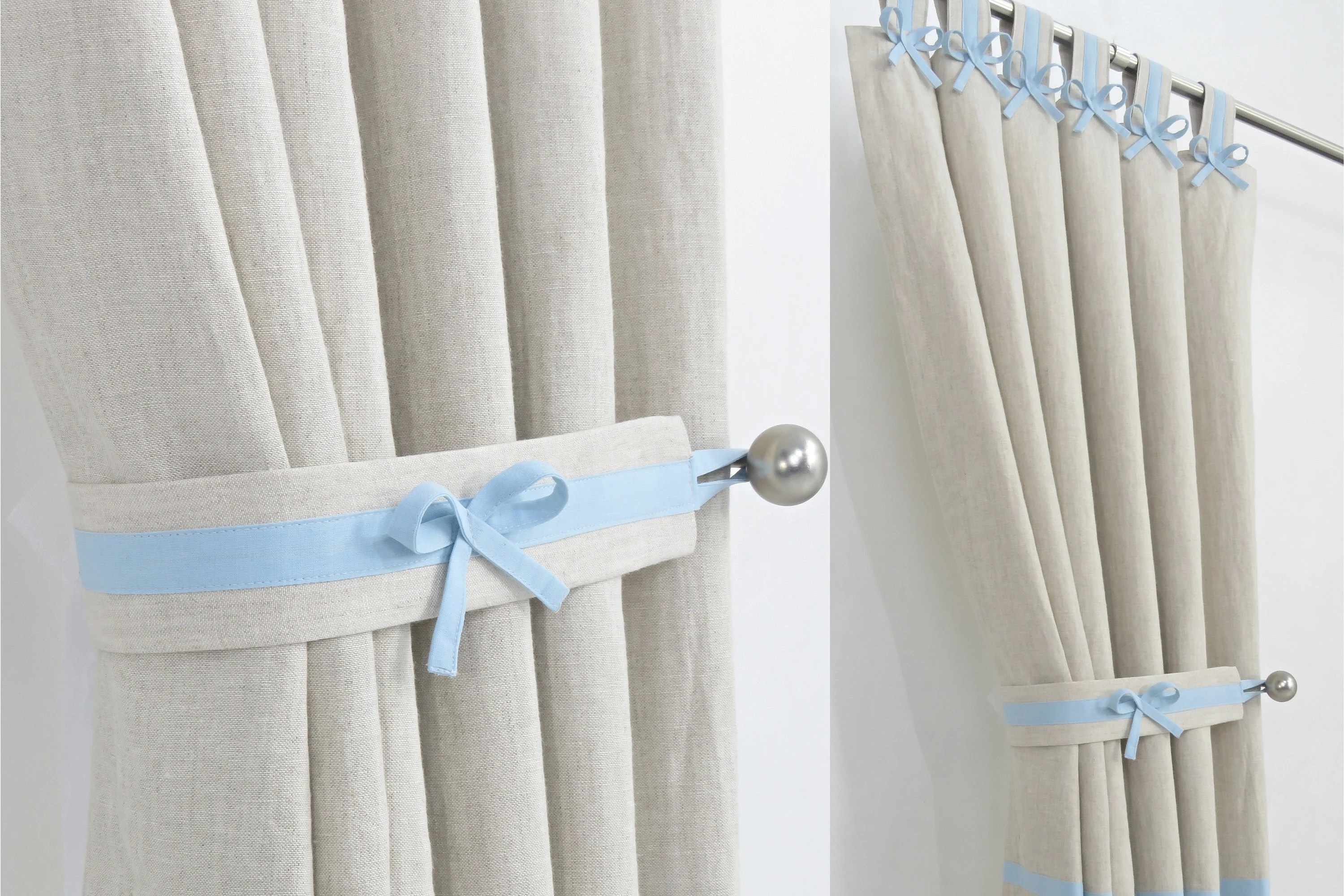 Boys Nursery Curtains Nursery Curtains Boys Nursery Linen Curtains Linen Drapes Baby Light Blue Nursery Curtains Made To Measure Natural Curtains Nursery Drapes