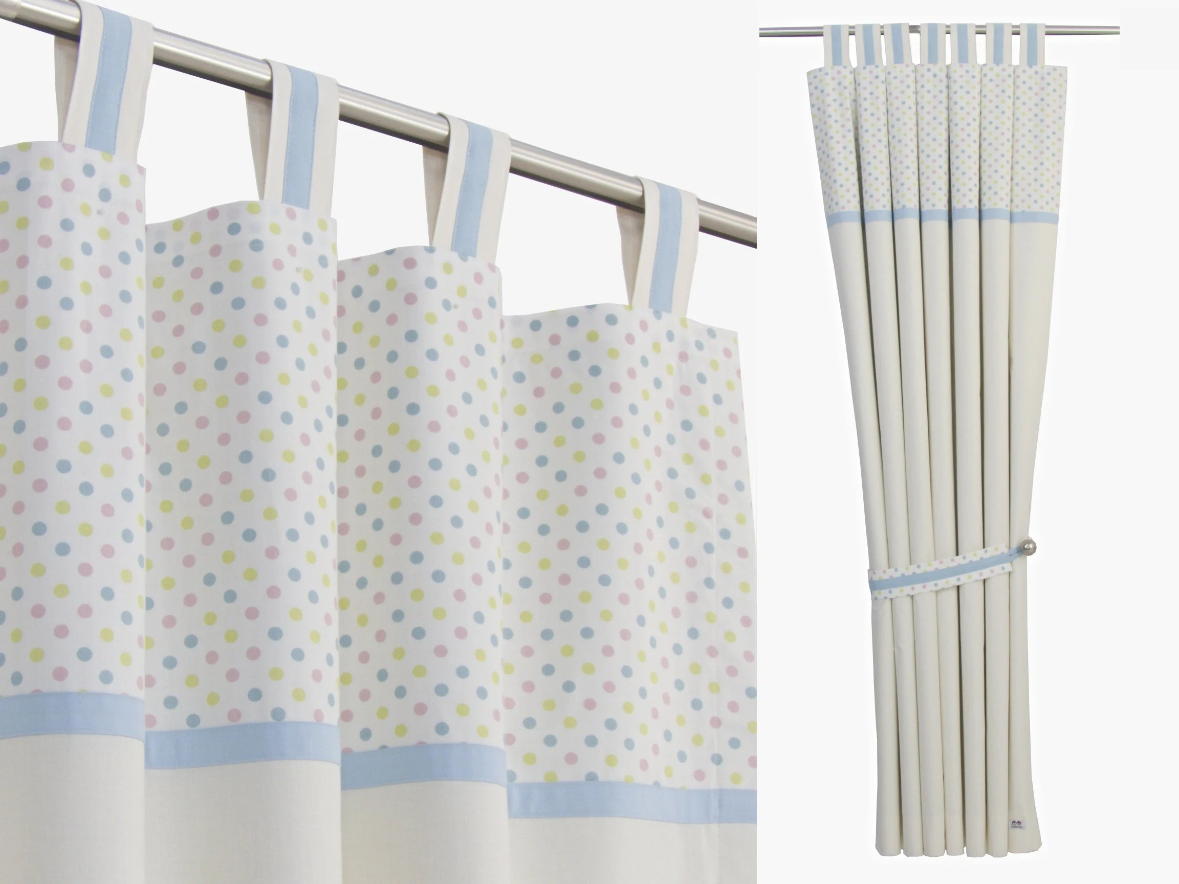 Boys Nursery Curtains Baby Boy Nursery Cream Curtains Cream Cotton Panels Pastel Nursery For Boys Beige Blue Nursery Blackout Lining Available Sold As Pair