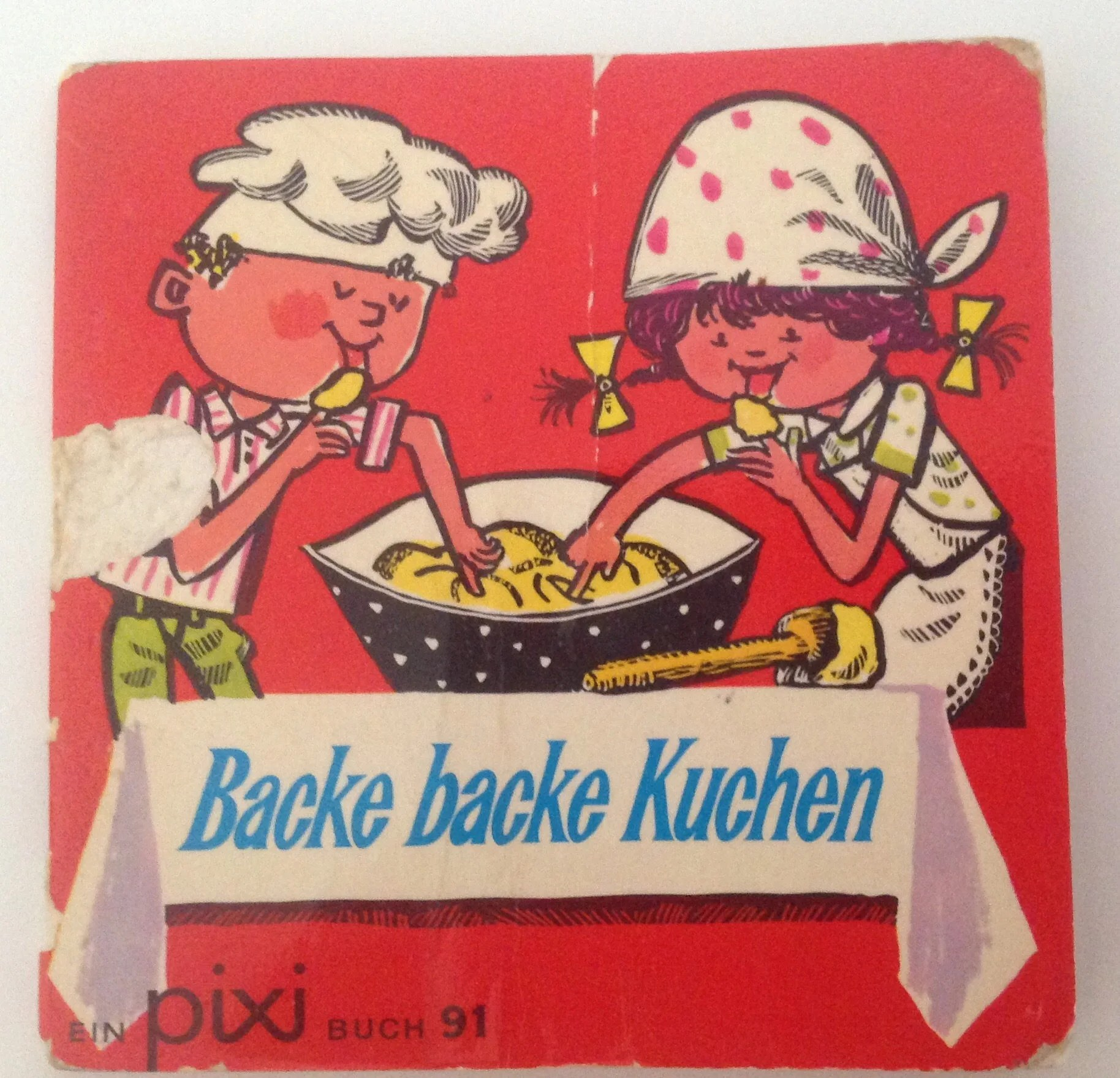 Backe Backe Kuchen German Pixi Book Backe Backe Kuchen Carlsen Verlag 3rd Edition 1971