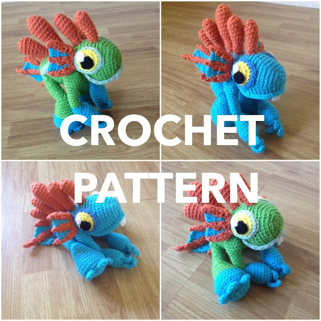 Totoro Bettwäsche Pattern Baby Murloc Amigurumi World Of Warcraft Inspired Plush Plushie Stuffed Toy