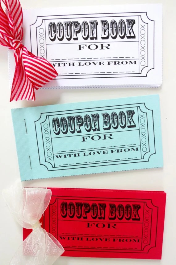 DIY Coupon Book Printable - Coupon Book Printing