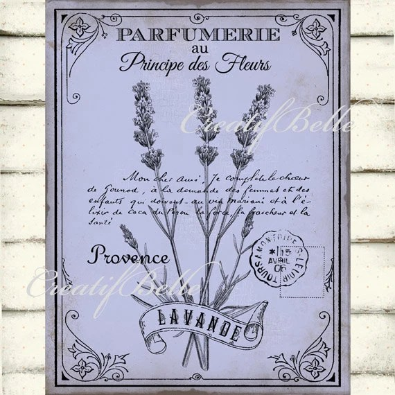 French Perfume Labels Printable Skycartprintable french vintage