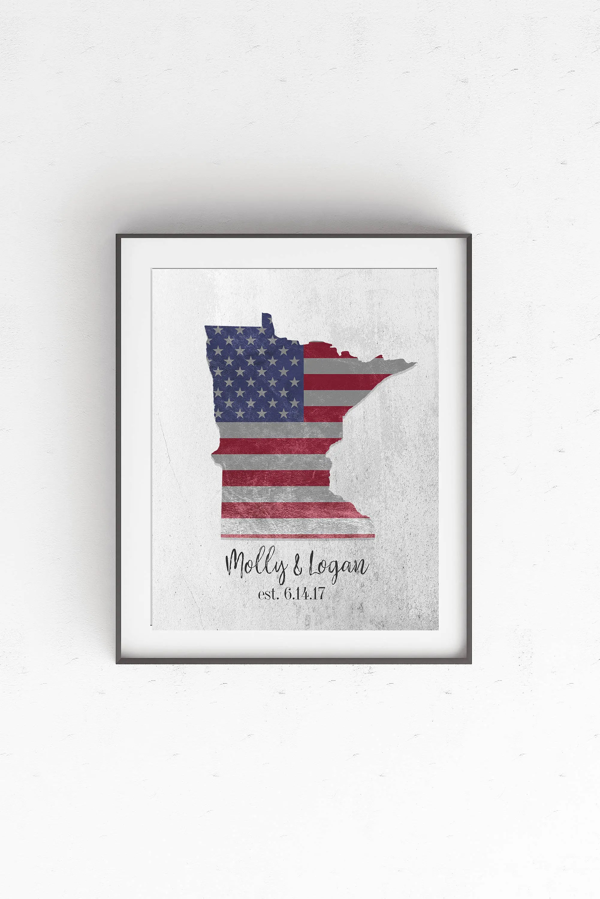 Personalized House Warming Gift House Warming Gift Personalized State Art Print Moving