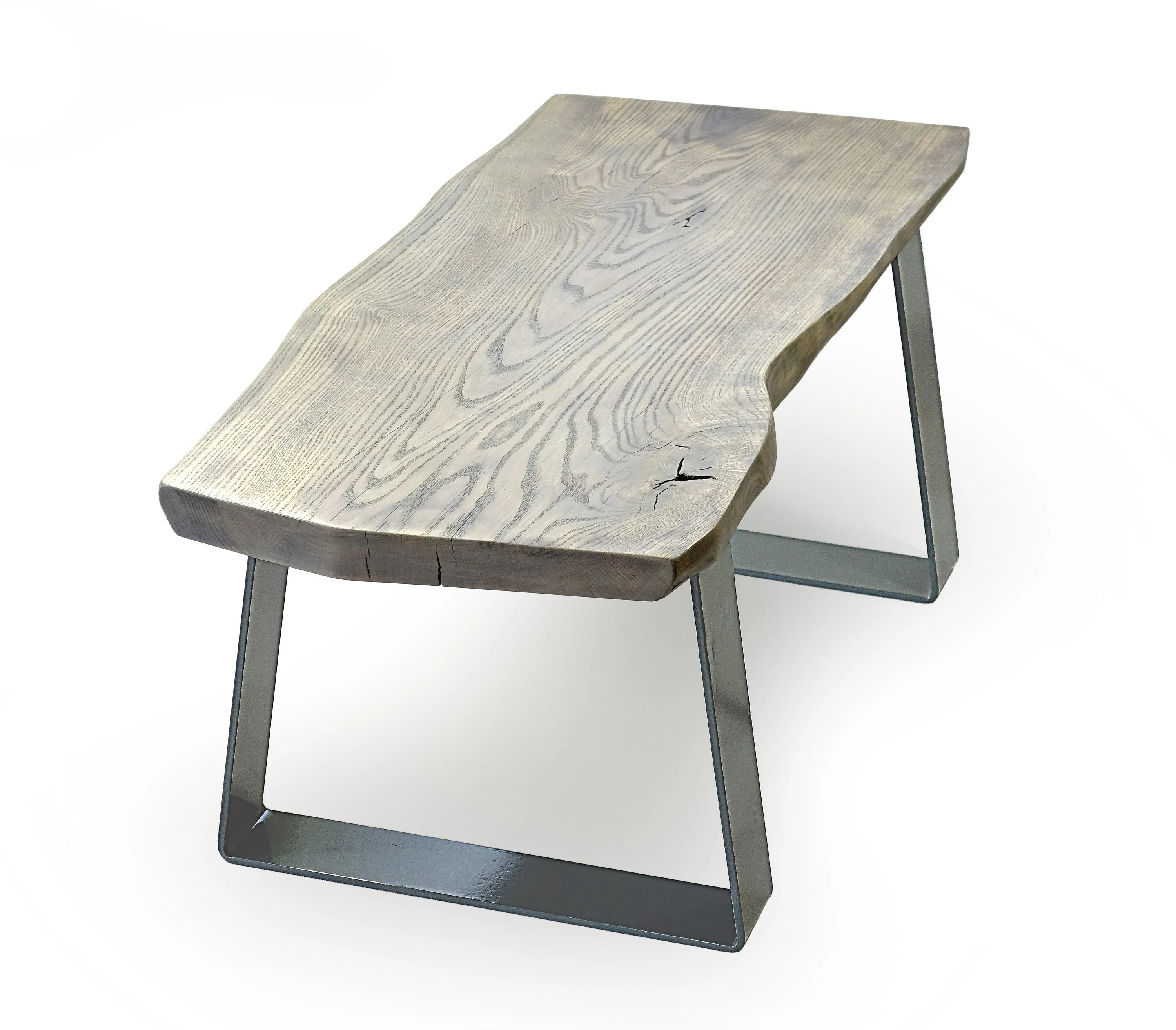 Couchtisch Sahara Grey Live Edge Coffee Table As Seen In Elle Decoration Grey Coffee Table Uk Steel Wood Coffee Table