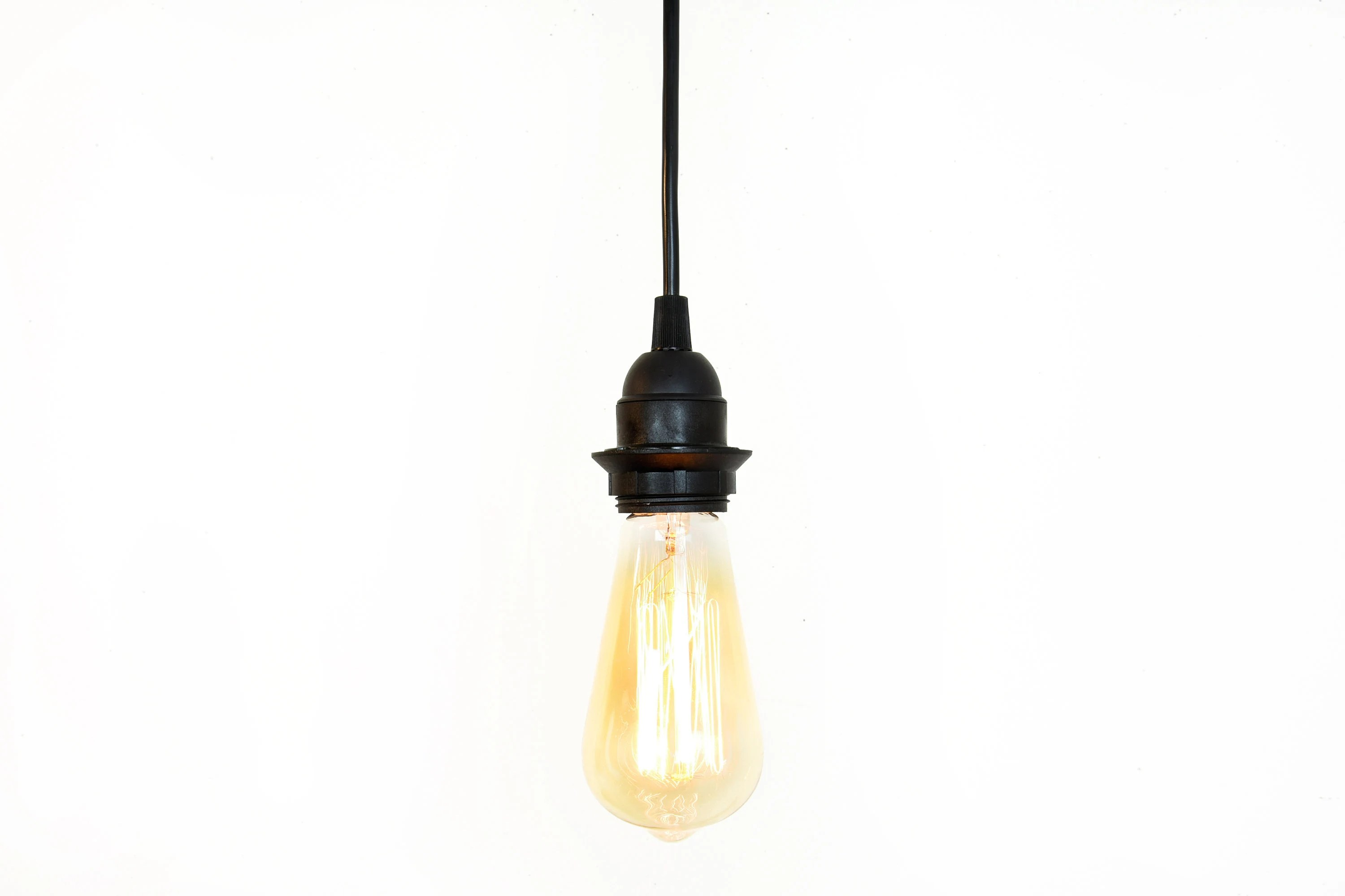 Plug In Hanging Lamps Industrial Pendant Light Plug In Hanging Lights Bare Bulb Lighting