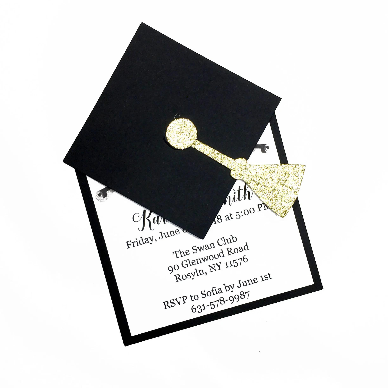 Invita a invitaciones de graduación, graduación, graduación tarjeta,  invitación de graduación de Universidad, High School secundaria graduación