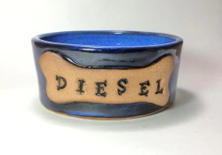 Simple Personalized Made To Order Large Ceramic Pottery Dog Pottery Personalized Pet Pet Food Bowl Personalized Made To Order Large Ceramic Pottery Dog Personalized Dog Bowls Personalized Dog Bowls St