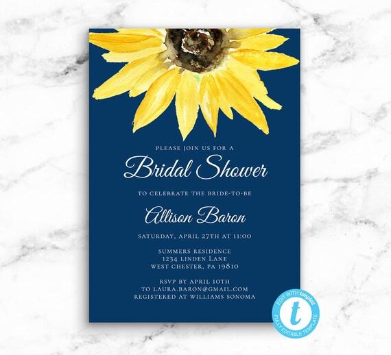 BRIDAL SHOWER INVITATION - SEEDInvites