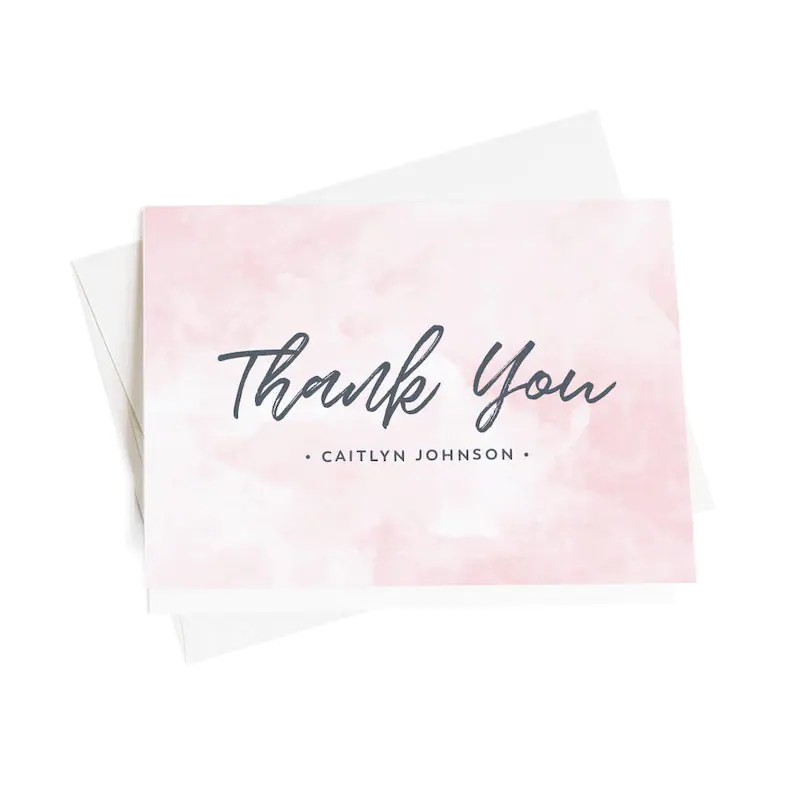 Personalized Thank You Notes Business Thank You Notes Thank Etsy