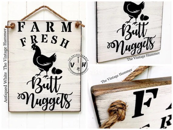 Fresh Eggs Sign wood sign saying hand painted farmhouse Etsy
