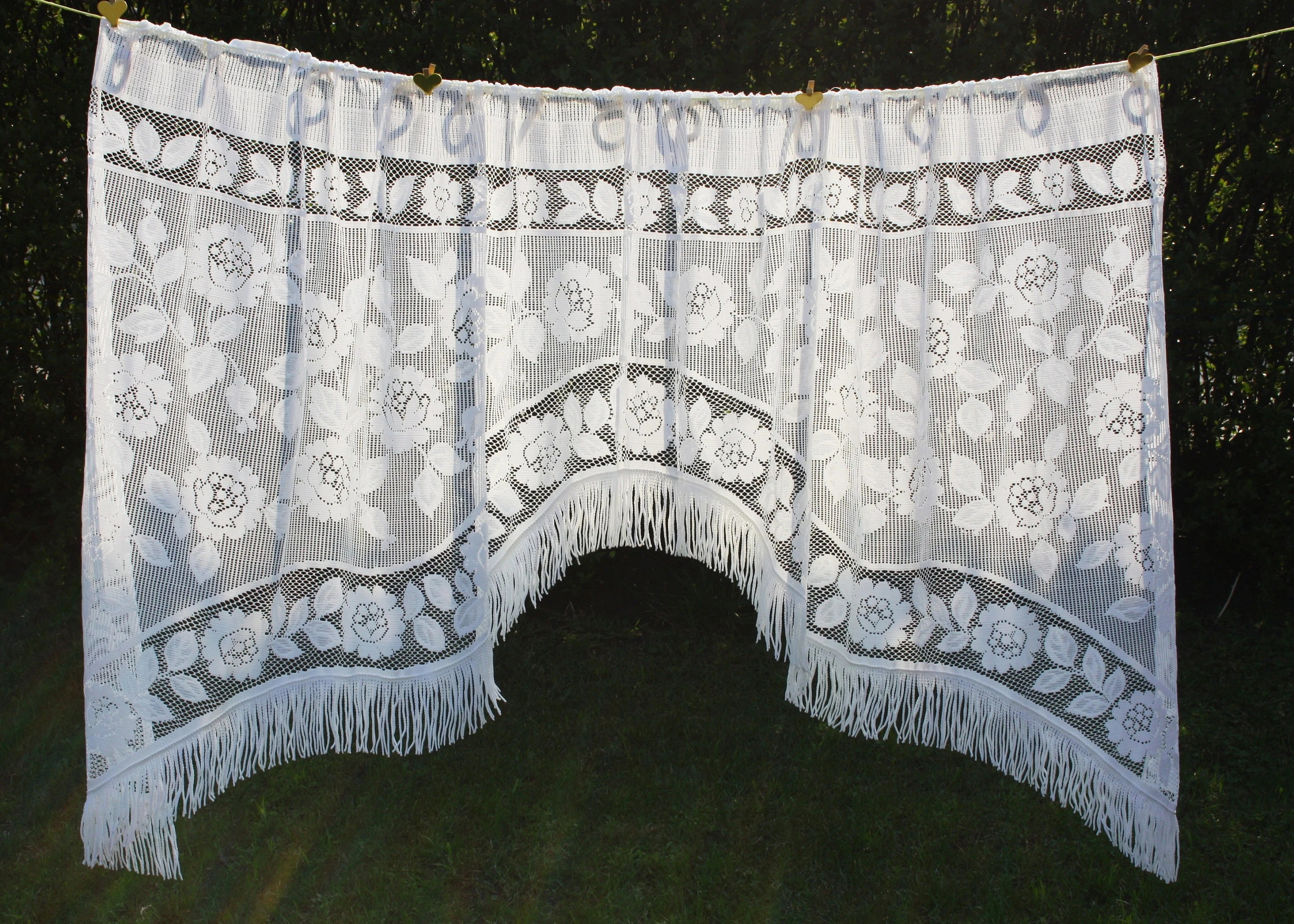 French Lace Curtains French Lace Curtains Farmhouse Curtains Shabby Chic Curtains