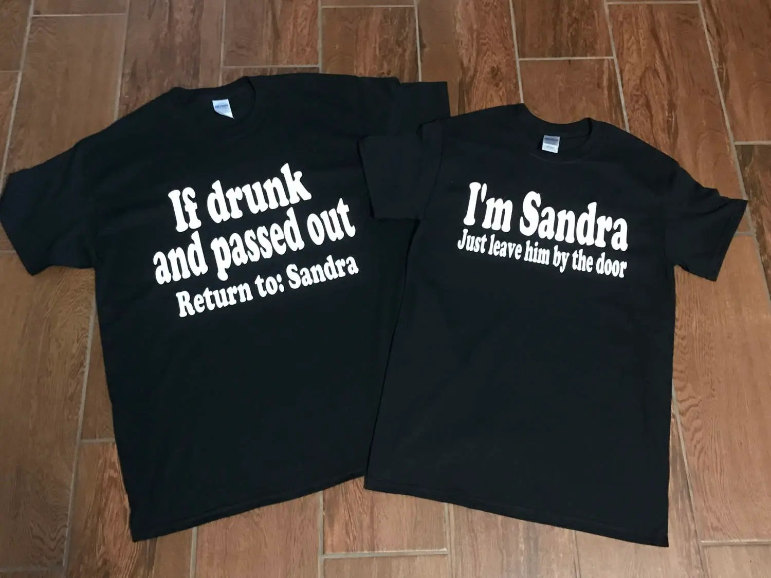 882266345 Matching Couple Shirts Drinking Shirts Funny Couple Drunk Shirts Leave Him  By The Door If Drunk And Passed Out Cruise Shirts